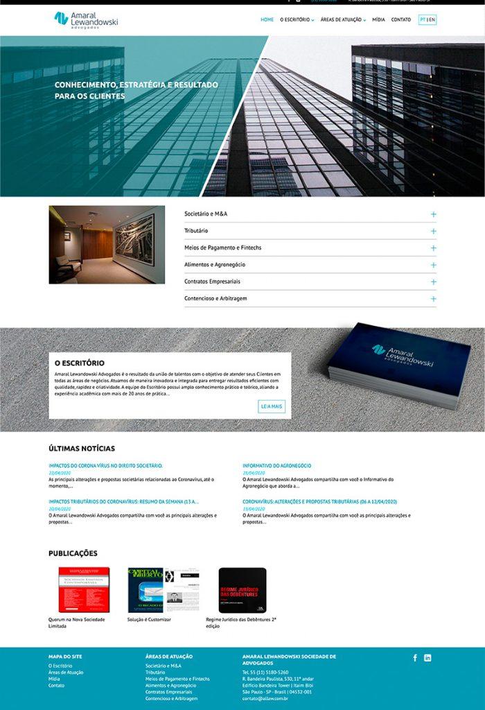 Criação de Site Allaw
