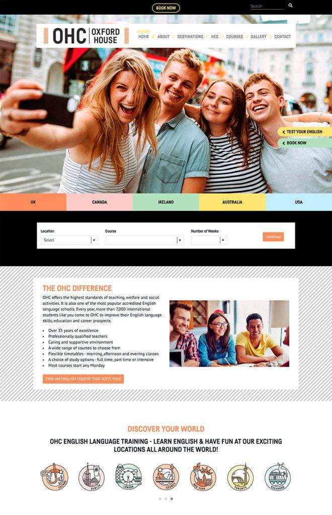 OHC English Website