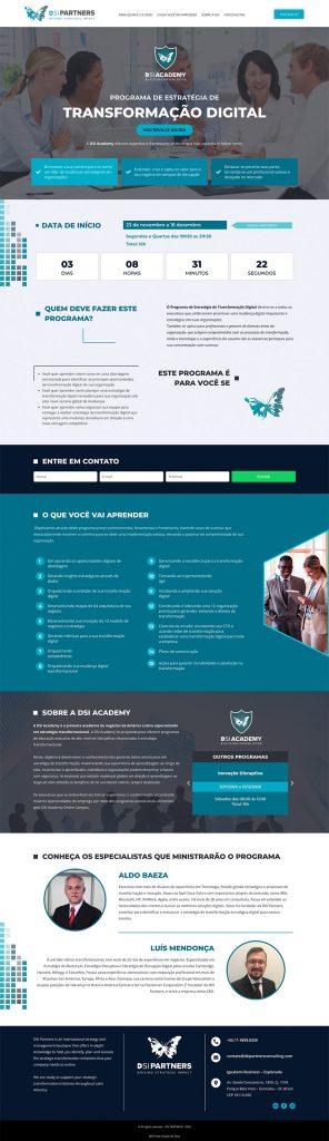 DSI Landing Page